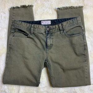 Free People Distressed Jeans Sz 28